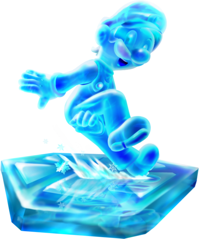 File:Ice Luigi by Foxeaf.png