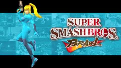 Vs. Parasite Queen (Super Smash Bros
