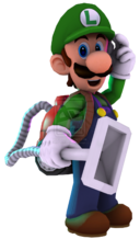 Luigi 3d render by ratchetmario-d5tnhiu