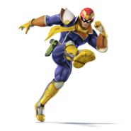 CaptainFalconSSB4Render