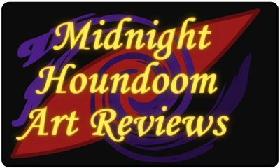 Midnight Houndoom Art Reviews Logo
