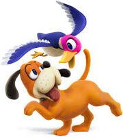 Duck Hunt Duo Smash Bros