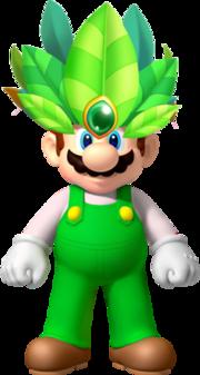 Leaf Mario