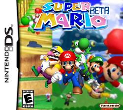 Super Mario Beta Boxart