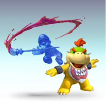 Bowser Jr. & Shadow Mario SSBTT