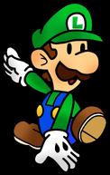 Mario and luigi paper jam paper luigi by fawfulthegreat64-d94c00j
