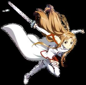 Sword Art Online Asuna Yuuki Hyper Accion HD Render