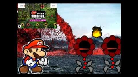 Super Mario Bros Extreme Total Takeover World 3 Magma Fields Music