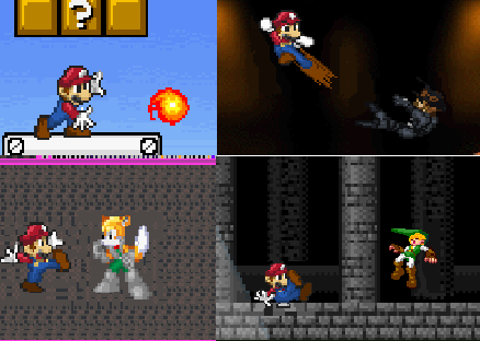 File:SSBB Mario pictures.PNG