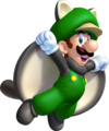 Flying Squirrel Luigi - New Super Luigi U