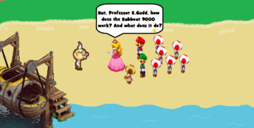 Mario & Luigi Darkness Revealed Screenshot 1