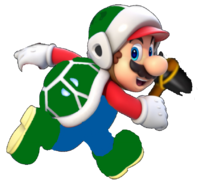 Hammer Mario by firesupermario.