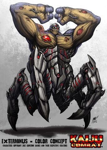 File:Kaiju combat exterminus by kaijusamurai-d5o3xzm.jpg