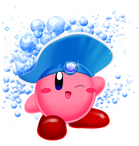 File:Kirby collab bubble kirby by bowser2queen-d4ab7gp.png