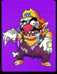 PowerCardWario ZombieWario