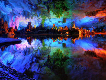 Reed Flute Caves China