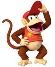 Diddy Kong Donkey Kong's Partner