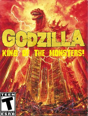 Godzilla - King of the Monsters! Box Art