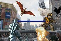 Godzilla Universe Gameplay