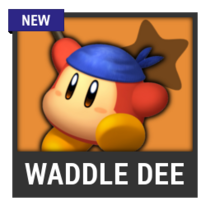ACL -- Super Smash Bros. Switch character box - Waddle Dee