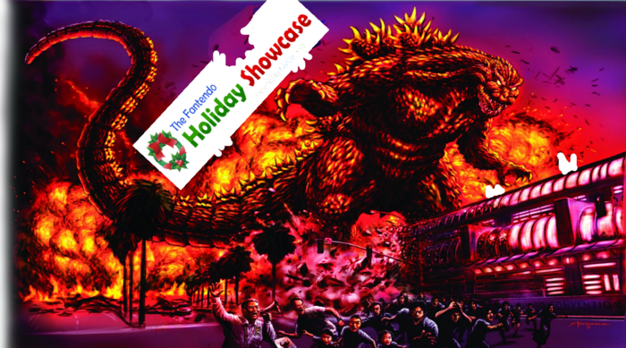Godzilla Holiday Showcase NEW