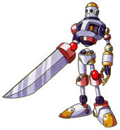 Normal skeleton sword