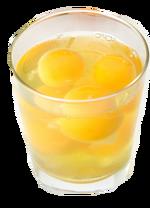 Egg in ShotGlass