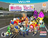 Yoshi kart Wii U Box