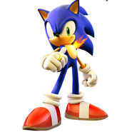 Sonic With Fire
