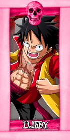 MASSES Character Luffy
