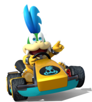 Mario Kart Larry
