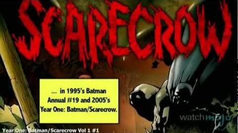 Supervillain Origins Scarecrow