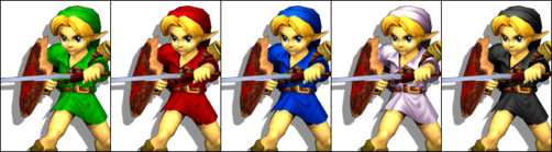 Young Link Palette