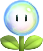 Bubble flower nsmbu version by machrider14-d5tj4rv