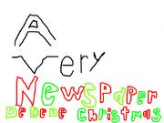 Newspaper Dedede christmas