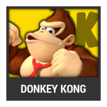ACL -- Super Smash Bros. Switch character box - Donkey Kong