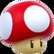 Super Mushroom Artwork - Super Mario 3D World