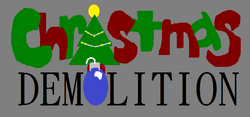 Christmas Demolition Logo