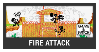 ACL -- Super Smash Bros. Switch stage box - Fire Attack