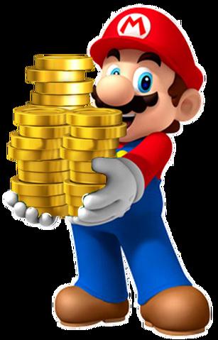 File:MarioHoldingCoins.png