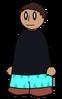 Pants Cyan Zig-Zag Generic