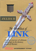 Zelda II The Adventure of Link cover