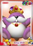 SMW3D KingMoleTradingCard