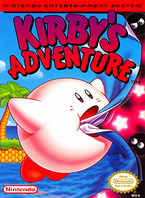 Kirby's Adventure Coverart
