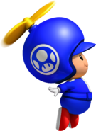 Propeller Blue Toad