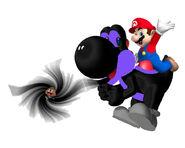 Black Hole Yoshi