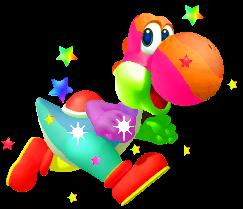 File:Rainbow Yoshi.png
