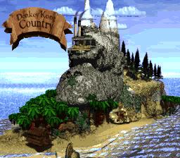 Donkey Kong Island (Donkey Kong Country)