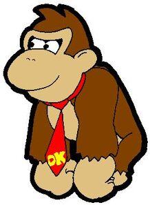 Paper Donkey Kong by Iggykoopa66