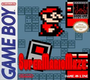 SuperMarioMazeUS Box Real